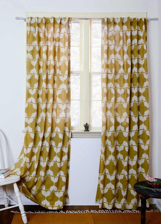 Mustard yellow curtain panels - Details Mustard Curtains Yellow