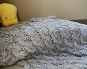 Wrapped Up Knit Blanket - Pattern Only - permission to sell what you make