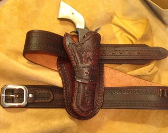 Custom Made to Order Holster and Belt set