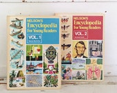 vintage encyclopedia for young readers set of 2 volumes