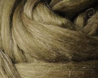 Tweedy Merino Tussah Flax Custom Blended Top - 4 oz