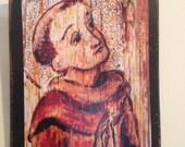 Retablo Retablos Art4thesoul St Francis Christmas gift for him Saint Francis of Assisi Retablo