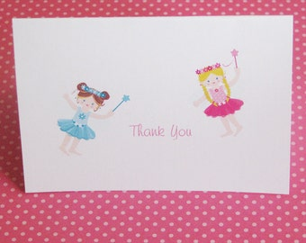 Fairy Thank You Cards -Set of 12