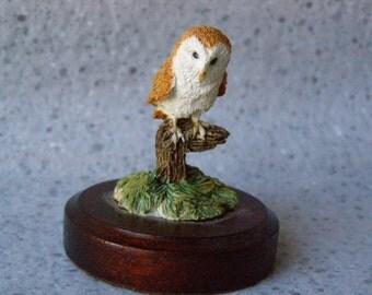Robarts Mini Barn Owl figurine
