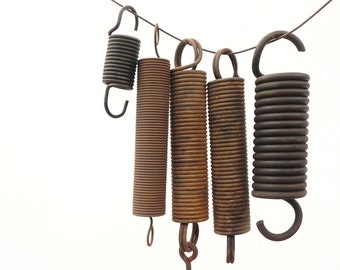 5 salvaged heavy duty springs