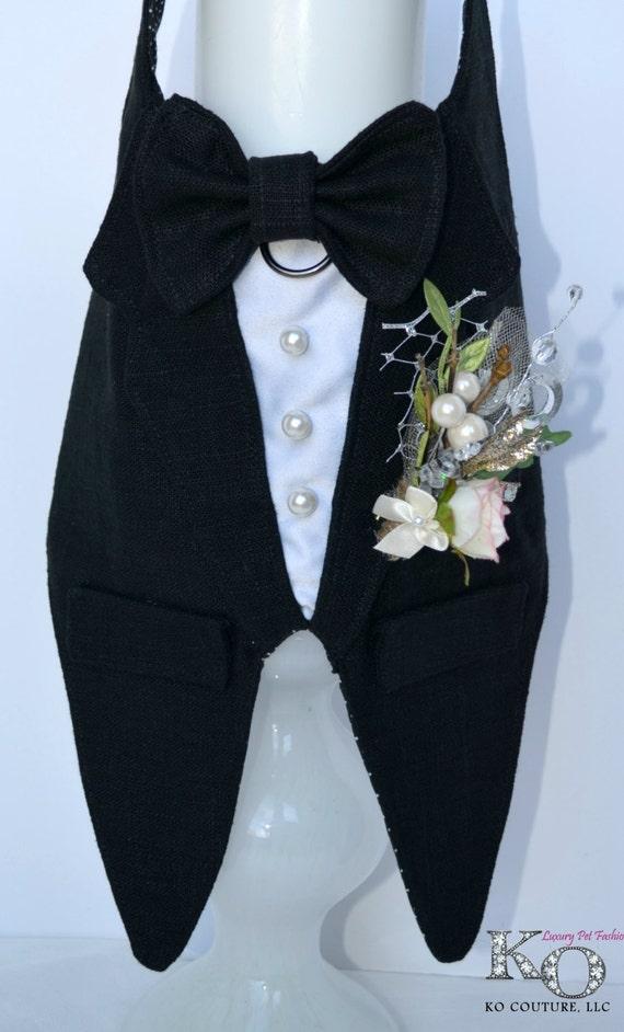 Black Dog Tuxedo Harness