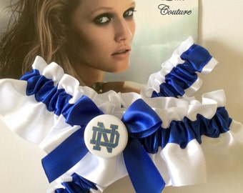 College Sports Garter Custom themed wedding