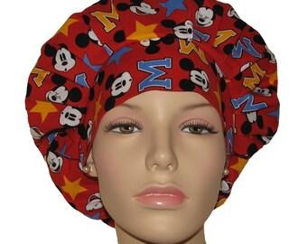 Scrub Hats - Mickey Faces and Stars