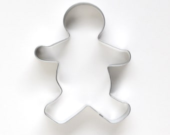 Gingerbread Man Cookie Cutter - Large - Christmas Cookie Cutter
