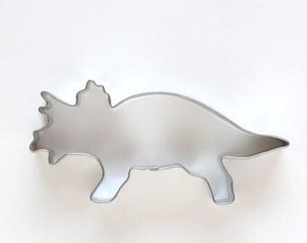 Dinosaur Cookie Cutter - Triceratops