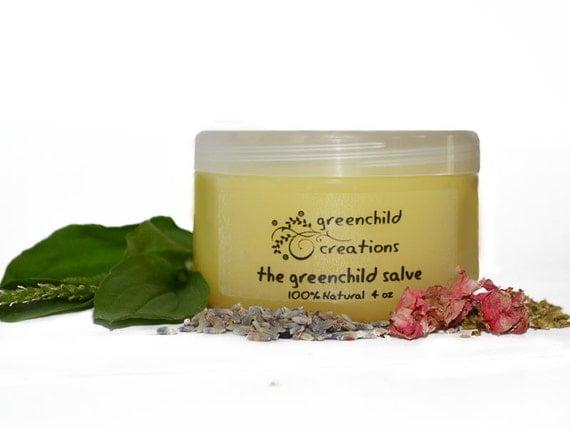 The Greenchild Salve, 100% Natural, 4 oz