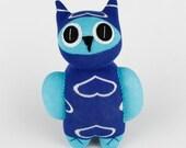 New year Gift Christmas Gift Birthday Gift Handmade Sock Owl Stuffed Animal Doll Baby Toys