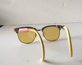 Onhold ***Vintage sunglasses Shuron 6 1/2 USA Alum   Continental