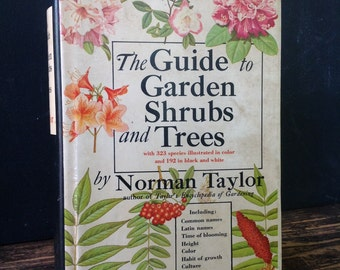 Vintage Guide to Garden Shrubs and Trees