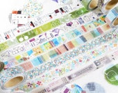 New-Japanese Washi Masking Tape - Little Path / Chamil Garden Vol.4 (Choose one)