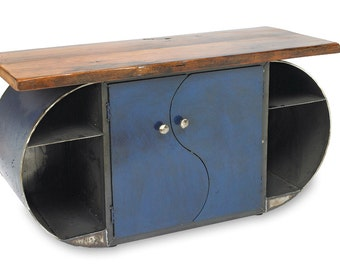 Metal Moonlight Credenza Modern Tv Cabinet
