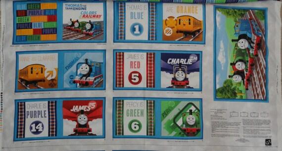 Thomas the train fabric book children 39 s books art for Kids train fabric
