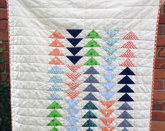 Modern Crib Quilt   Sale and Free Shipping In US