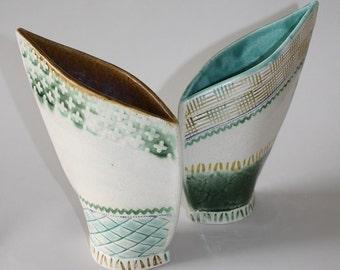 Ceramic Vase, Pottery Vase, Flower Vase, Ceramic Flower Pot, Modern Vase, Home Decor, Asymmetrical Vase