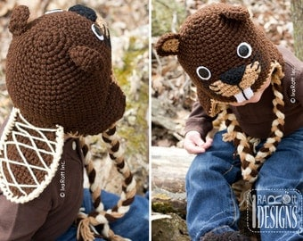 CROCHET PATTERN Canadian Justin The Beaver Hat Crochet PDF Pattern