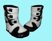 Motocross Baby Boots 0-6 Months *Made to order*