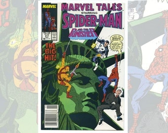 Marvel Tales Starring Spider-Man and the Punisher #217 Nov 1988