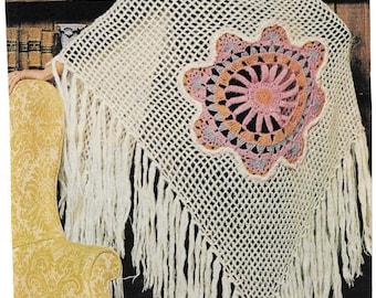 Crochet Motif Shawl Pattern