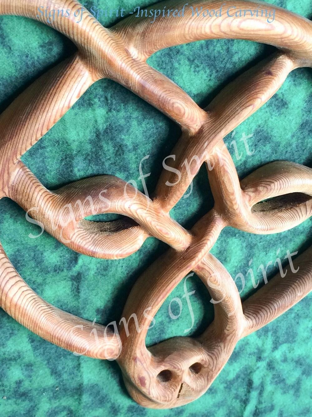 Celtic Bear Knot-Strength Stamina Balance Protection-Symbol of