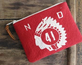Southwestern Boho Clutch Zipper Pouch Native American Summer Boho Accessories Women