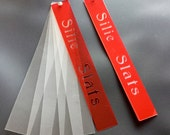 Metal Clay Riveted Silie Slats Set -  1 - 6 cards