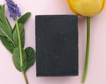 Active Charcoal Black Soap - Acne Care - Unscented