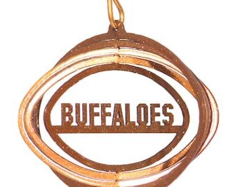 Colorado Buffaloes Tini Swirly Metal Wind Spinner