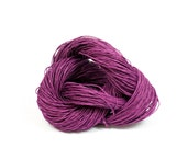 Paper Yarn - Paper Twine: Violet / Purple - 131 yards (120m) - Knit, crochet, textile arts, DIY supply - Handwash