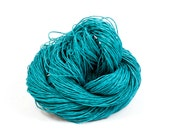 Paper Yarn - Paper Twine: Teal - 131 yards (120m) - Knit, crochet, textile arts, DIY supply