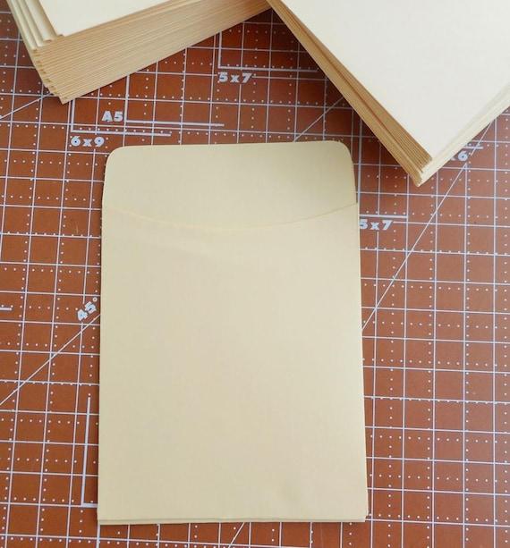 20 Library Card Pockets Self Adhesive