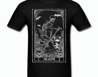 Death Card Tarot T Shirt