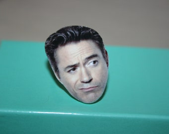 Robert Downey Jr Ring Celebrity Inspired Jewelry, Gift Idea