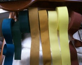 custom 2 inch petersham ribbon in colors vintage cotton and rayon
