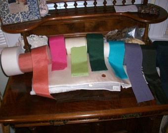 """petersham vintage ribbon in beautiful colors 3"""" wide"""