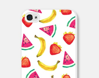 Watermelon iPhone 6 Case Banana Phone Case Watermelon iPhone 5 Case Watermelon iPhone 5s Case Fruit Phone Case Fruit iPhone Case