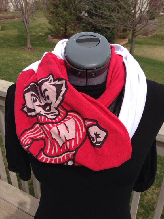 University Of Wisconsin Madison Recycled T Shirt Infinity