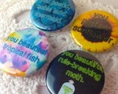 Leslie Knope Ann Perkins 1.25 inch Button or Magnet *you choose*