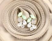 Swarovski Crystal Bridal Earrings- Bridesmaid Earrings- Crystal Stud Earrings- Rhinestone, Bridal Statement Earrings