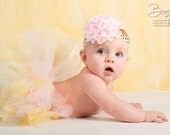 Pink and Gold Baby Headband, Pink and Gold Headband, 1st Birthday Headband, Pink and Gold Birthday Headband, Baby Headband, Toddler Headband