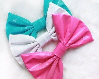 Medium PVC Hair Bow