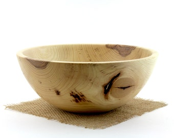 Pecan Bowl , Wooden Pecan Dish, Wood Popcorn bowl
