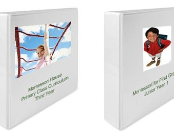 Montessori Teaching Album SET: Kindergarten & First Grade