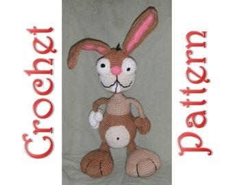 Jack the Rabbit A Crochet Pattern by Erin Scull