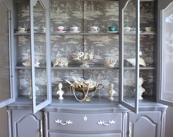 French China Cabinet/french provincial