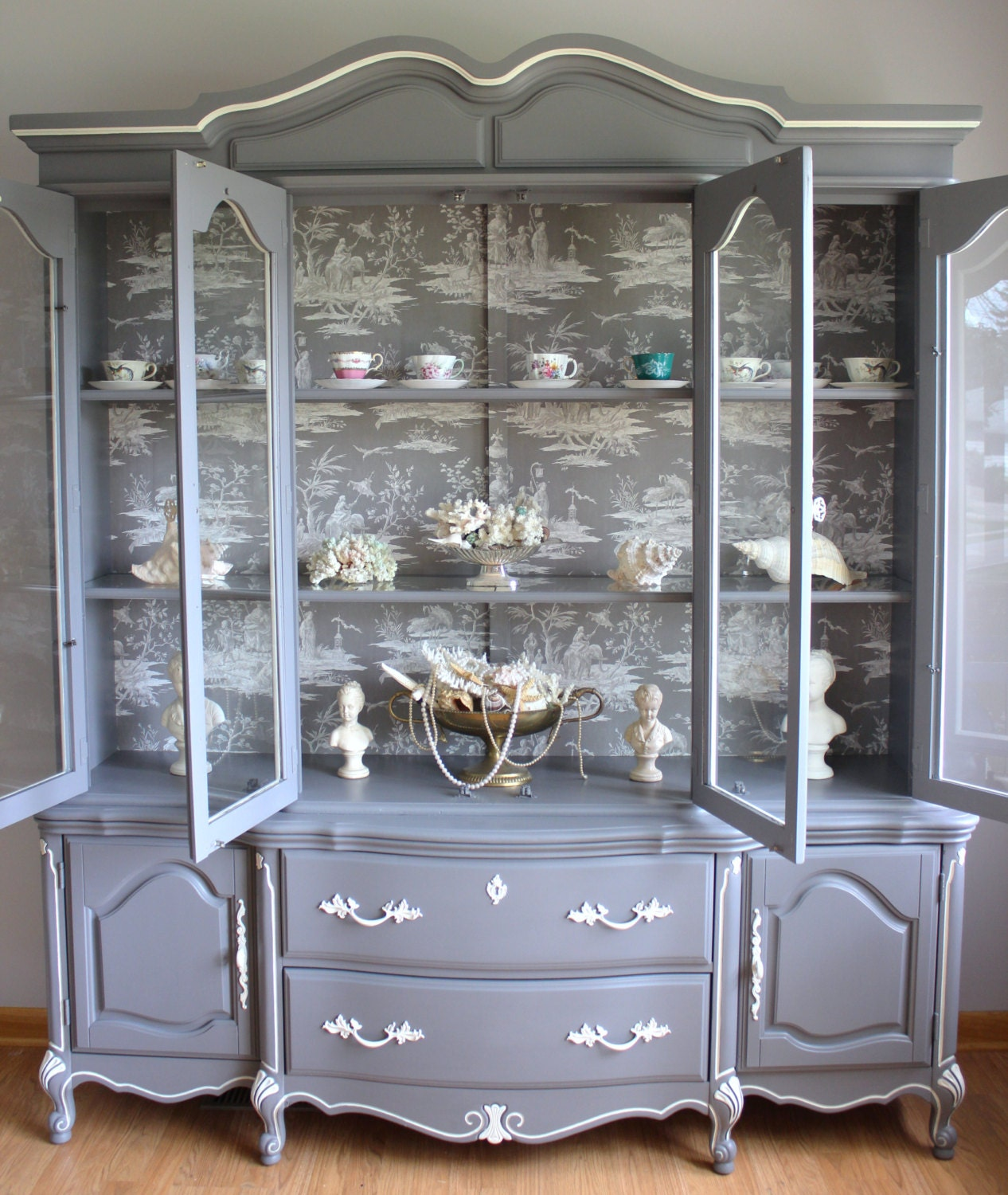 French Provincial Kitchen Cabinets: French China Cabinet/french Provincial Reserve For Annie